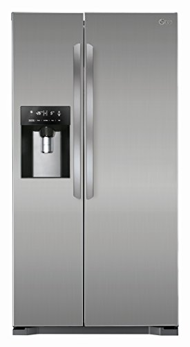 LG GSL 325 PZYZ  Side by Side (A++, Kühlen: 346 L, Gefrieren: 162 L, No-Frost, Cushed Ice, Wasserspender) steel