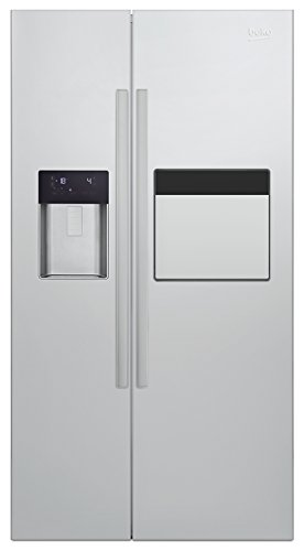beko gn 162421 zx side by side a 179 cm h he 471 kwh 176 l gefrierteil no frost. Black Bedroom Furniture Sets. Home Design Ideas