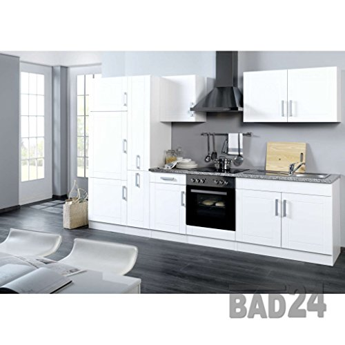 k chenblock 310 vario ohne e ger te apothekerschrank hochglanz weiss weiss einbauk. Black Bedroom Furniture Sets. Home Design Ideas