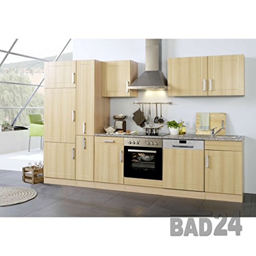k chenblock 310 vario ohne e ger te apothekerschrank buche buche einbauk. Black Bedroom Furniture Sets. Home Design Ideas