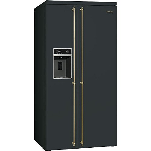 smeg sbs8004ao side by side k hl gefrier kombination. Black Bedroom Furniture Sets. Home Design Ideas
