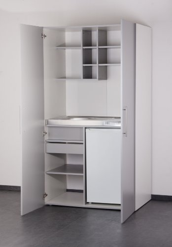 Mebasa mk0011s schrankk che minik che single k che in for Schrank 130 hoch